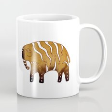 Gingerbread elephants Mug