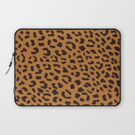 Leopard skin brown Laptop Sleeve