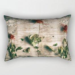 Dry Roses Rectangular Pillow