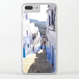 Alleys of Chefchaouen Clear iPhone Case