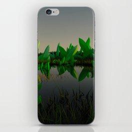Crystal Fields iPhone Skin