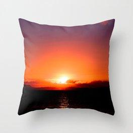 Nichibotsu (日没) Throw Pillow