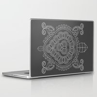 tortoise Laptop & iPad Skins featuring Pattern Tortoise  by Adil Siddiqui