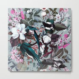 Floral and Birds XXIV Metal Print