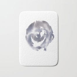 150527 Watercolour Shadows Abstract 156 Bath Mat