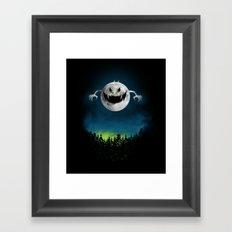 Moonster Framed Art Print