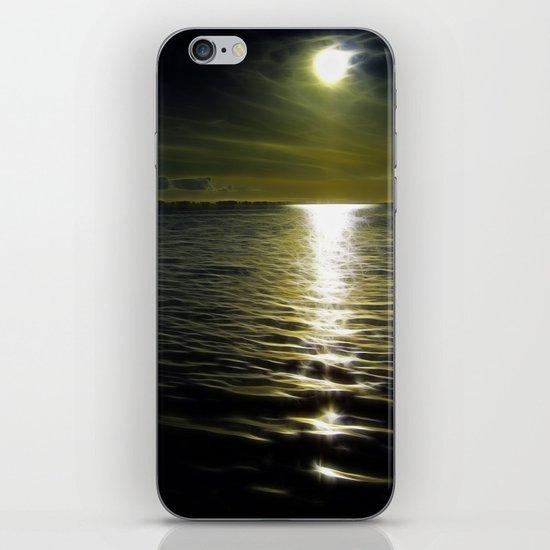 Ocean at night iPhone & iPod Skin