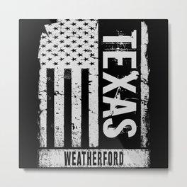 Weatherford Texas Metal Print