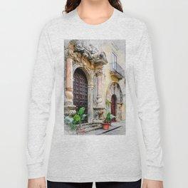 Trapani art 8 Long Sleeve T-shirt