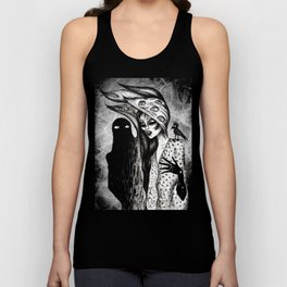 Dialogue With A Demon Unisex Tank Top
