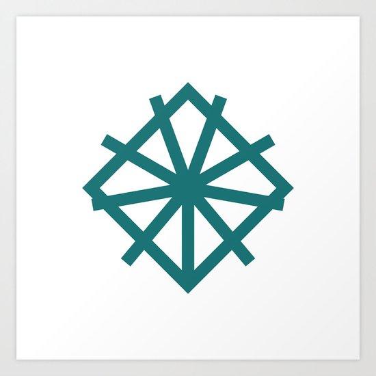 #151 Alliance – Geometry Daily Art Print