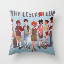 The Losers Club Throw Pillow