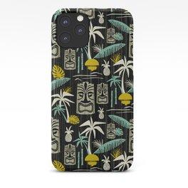 Island Tiki - Black iPhone Case