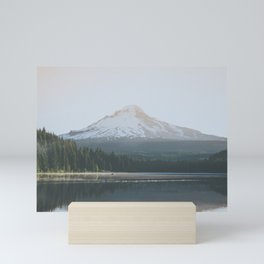 Trillium Lake Sunrise - Nature Photography Mini Art Print