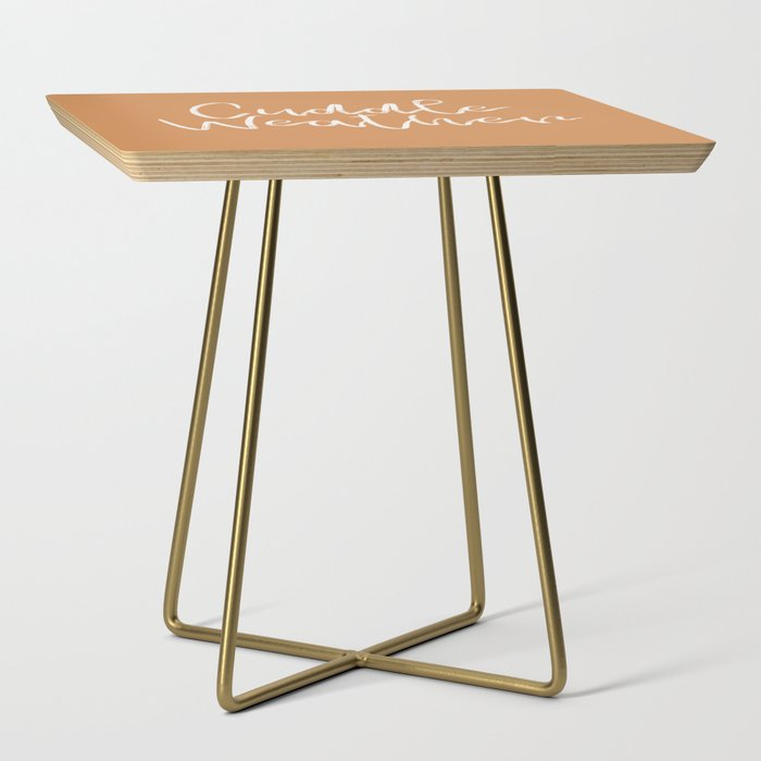 Cuddle Weather Side Table