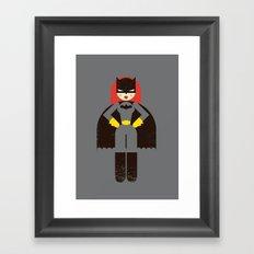 Batwoman Framed Art Print