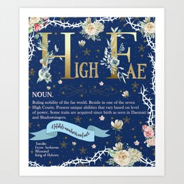 High Fae Art Print
