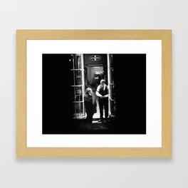 On the Street (44) Framed Art Print