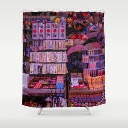 Matsuri Madness Shower Curtain