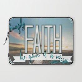 Faith  Laptop Sleeve