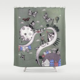 Travelling Shower Curtain