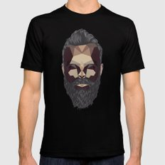 Greybeard Mens Fitted Tee Black SMALL
