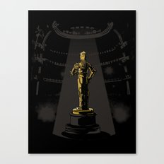 And the C3POscar goes to... Canvas Print