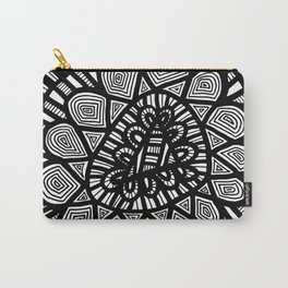 Black and White Doodle 7 Carry-All Pouch