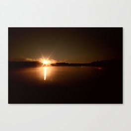 Sky Fills With Light Canvas Print