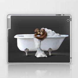 Orangutans in Bath Laptop & iPad Skin