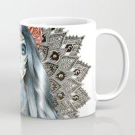 Day of the Dead Woman Mandala Coffee Mug