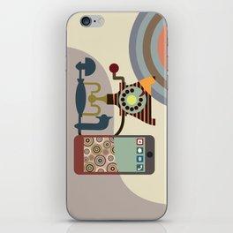 Telecom Chic iPhone Skin