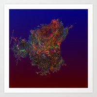 Synthetic Life Art Print