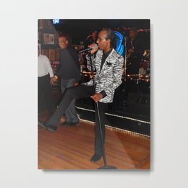 Jimi Smooth Metal Print
