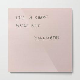 soulmates Metal Print