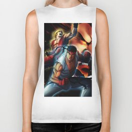 Street Fighters Biker Tank