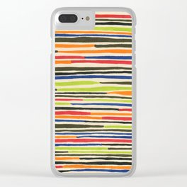 Moroccan rug Clear iPhone Case