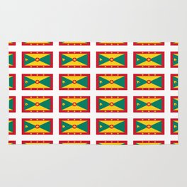 flag of grenada -grenadian,grenadines,Saint georges,grenville,Gouyave,Carriacou,nutmeg Rug