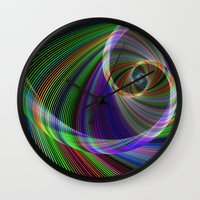 imagination Wall Clocks featuring Imagination by David Zydd