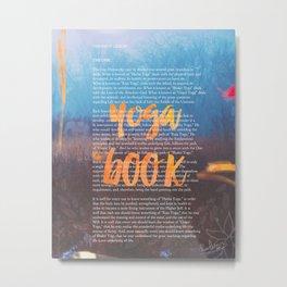 YogaBook  Metal Print