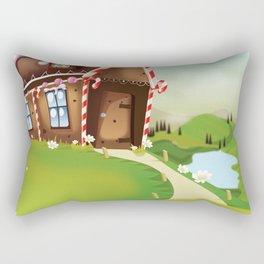 gingerbread house Rectangular Pillow