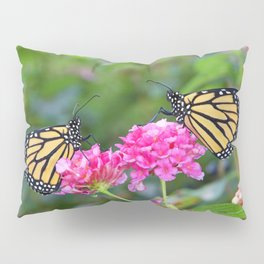 Monarch Butterfly Duet Pillow Sham