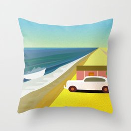 Mexican Honeymoon Throw Pillow