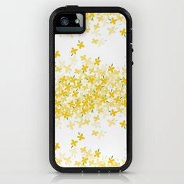 forsythia iPhone Case