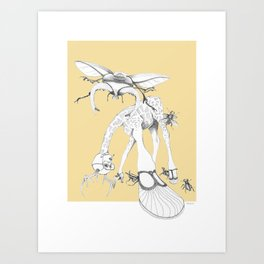 Weird & Wonderful: What bugs you? Art Print