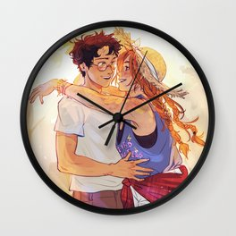Several sunlit days Wall Clock