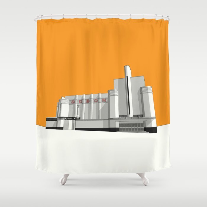 ODEON Woolwich Shower Curtain