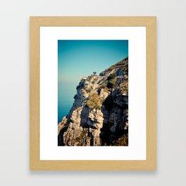 Postcards from Italy: Sorrento Framed Art Print
