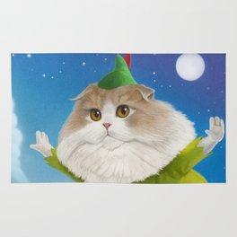 Peter Pan Cat Rug