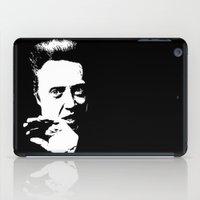 christopher walken iPad Cases featuring Christopher Walken by Spyck